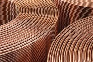 copper coil work